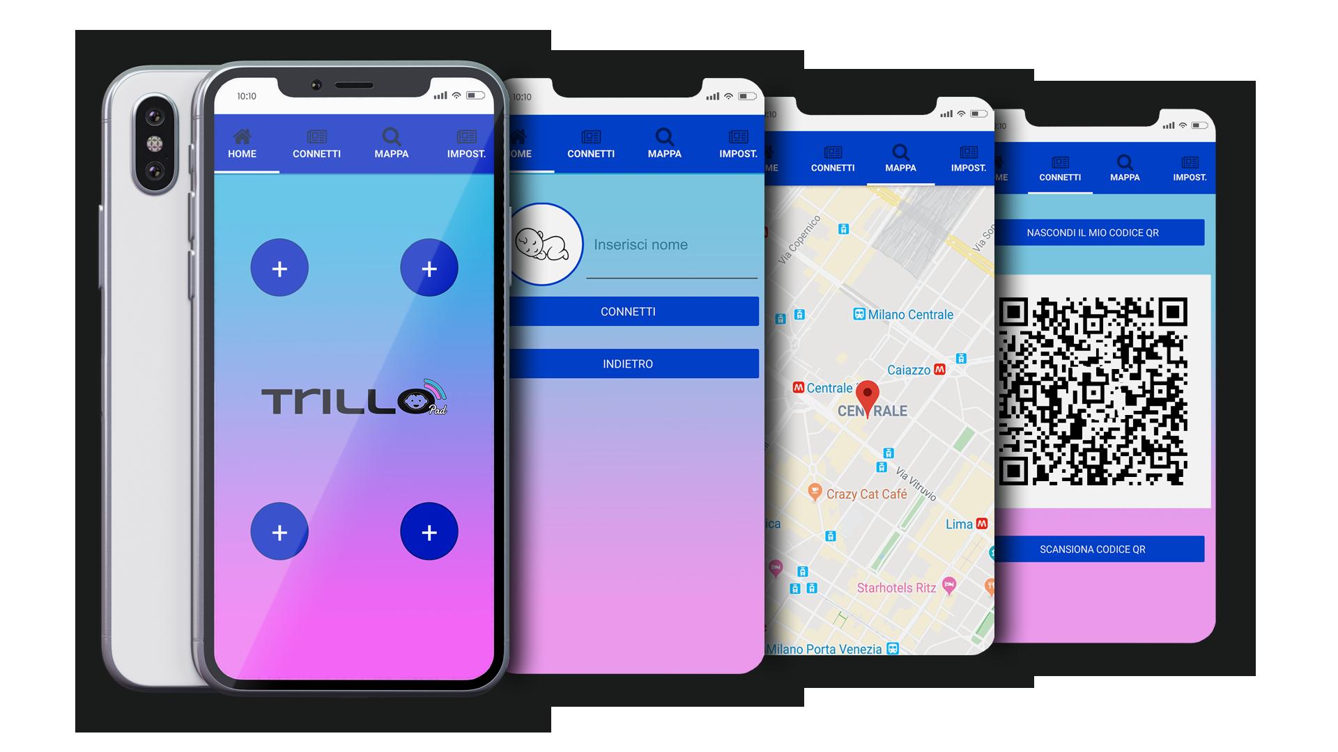 TrilloPad applicazione